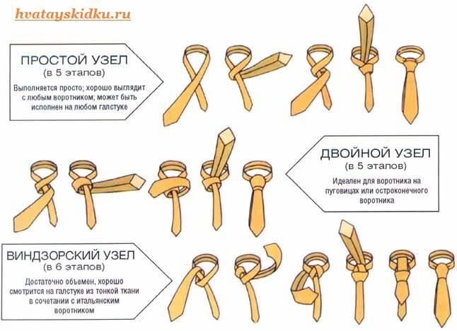 Как-завязать-галстук-2