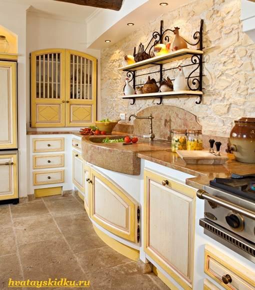 Кухня-в-стиле-Прованс-1
