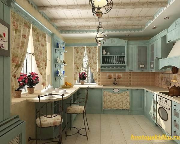 Кухня-в-стиле-Прованс-2