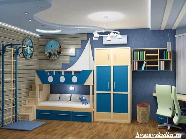 Комната-в-морском-стиле-2