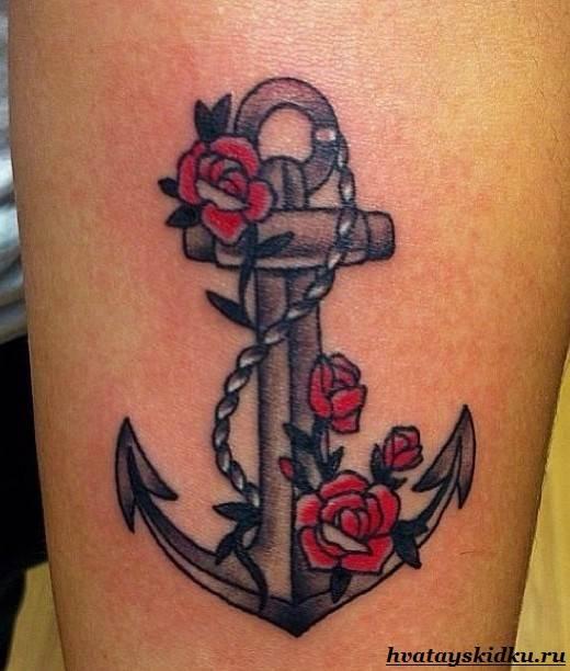 Татуировка-якорь-и-её-значение-2