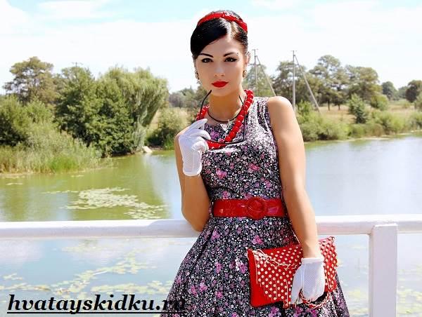 Платья-стиляги-и-их-особенности-1