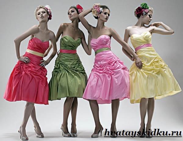 Платья-стиляги-и-их-особенности-3